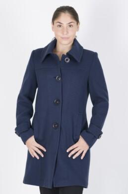 Mάλλινο μεσάτο παλτό